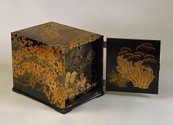 秋野蒔絵文庫